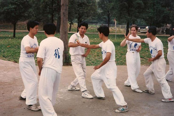 Push Hands Class, Zhengzhou 1995