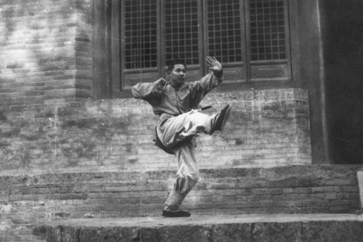 Shi Deyu At Shaolin Temple 1988