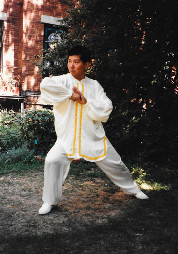 Elbow, Prof. Liu, 3rd International Wushu Championships, Baltimore 1995