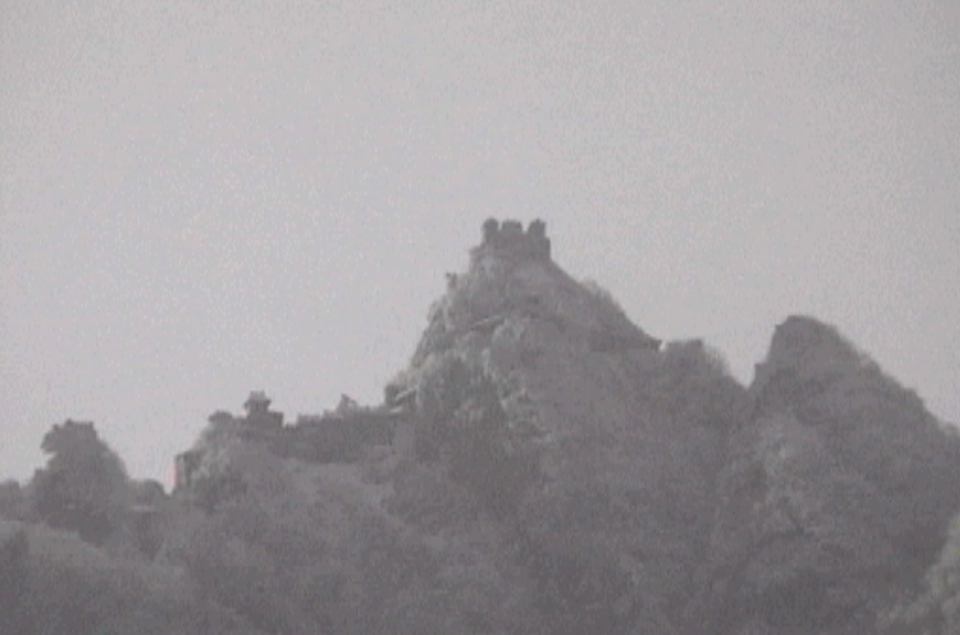 The Temple At Tianzhu, Wudang Mountain, December 1999