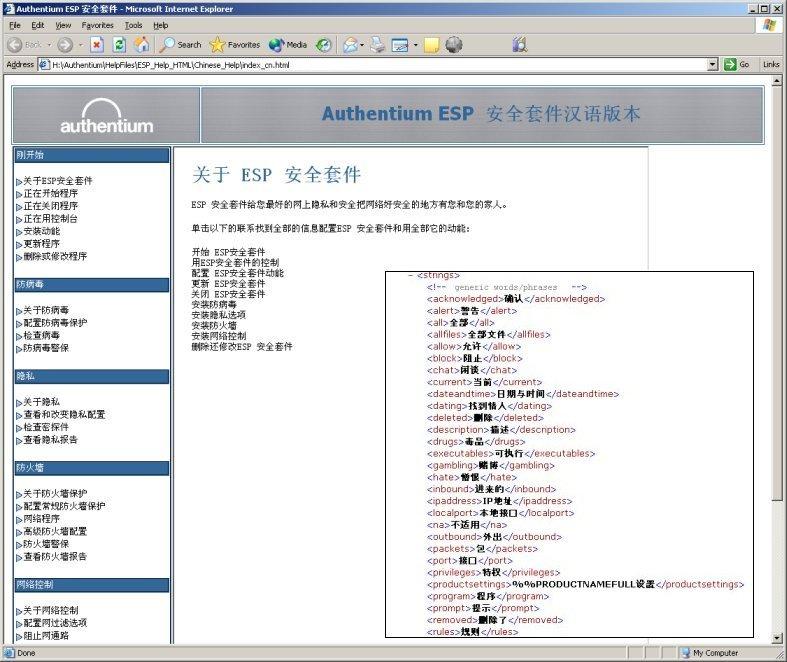 Custom Software Interface Translation
