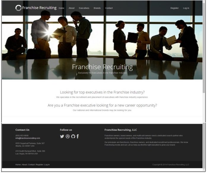 Franchise Group Executive Recruiting Portal