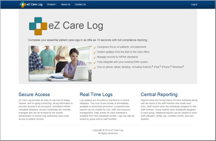 Patient Care Tracking Application
